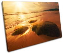 Beach Sunset Seascape - 13-1466(00B)-SG32-LO